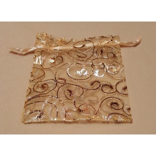 Gold Swirled Bag