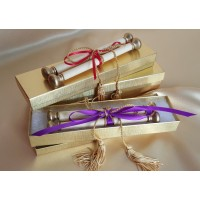 Rolled Scroll Invitation Boxes