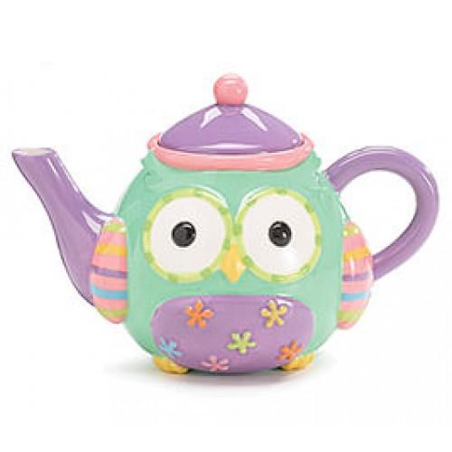 Wize Owl Teapot