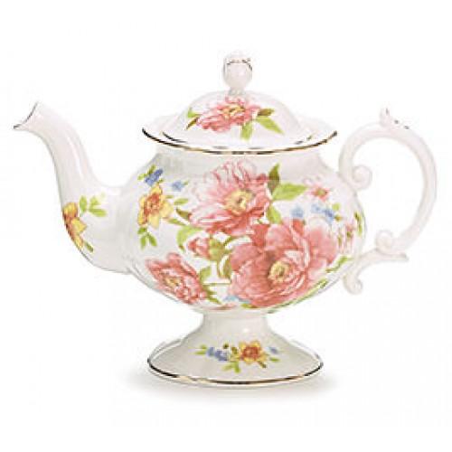 Royal Rose Porcelain Tea Pot