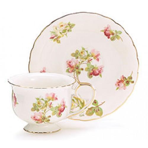 Royal Rose Tea Cup and Saucer