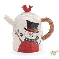 Snowman Teapots